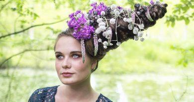 Sublimées boek florale kapsels bloemenkapsels Hélène Supion florist bruidswerk Jean-Yves Bardin