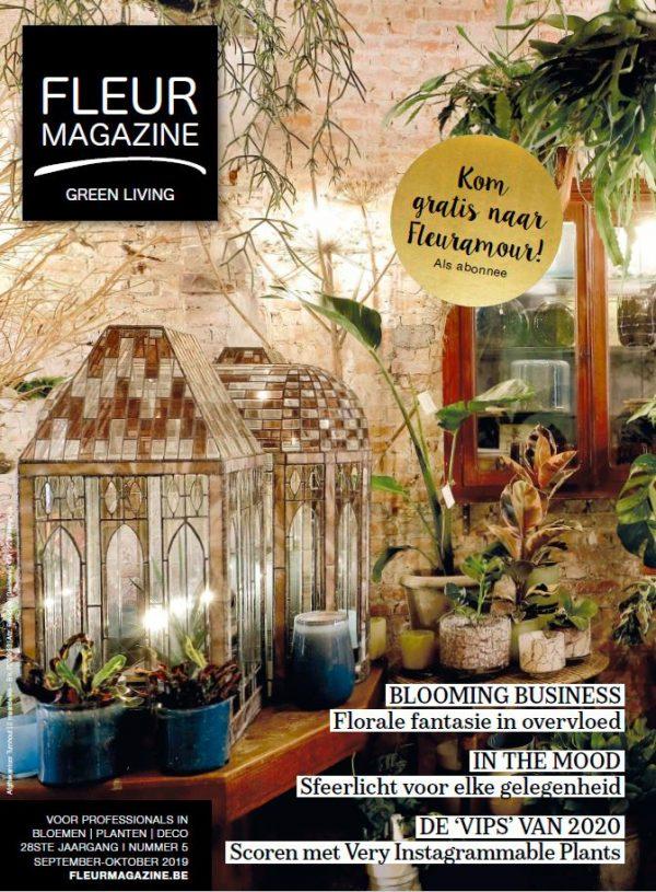 fleur magazine daniel deprez bluet koen van malderen seizoensbloemen trending plants