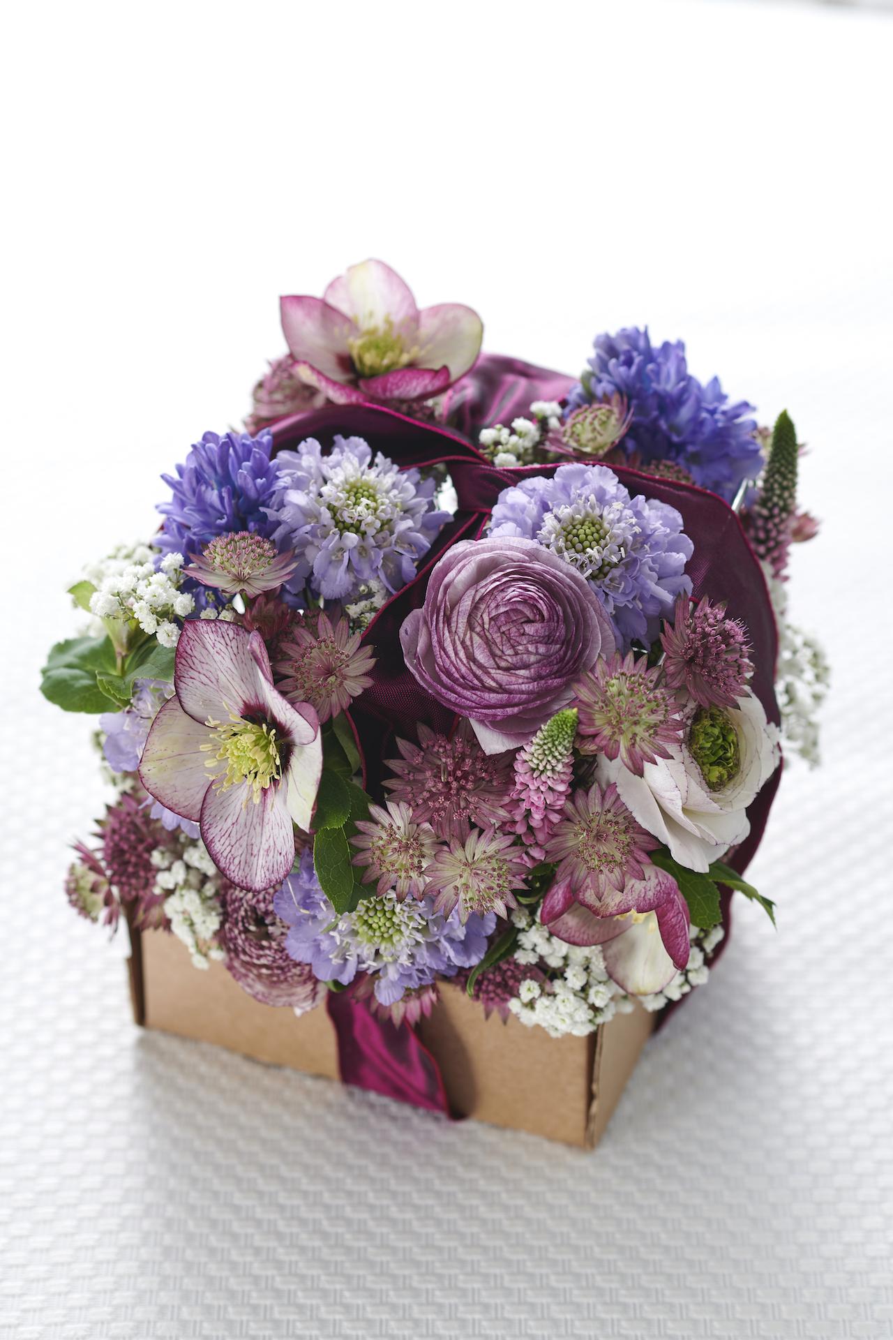 Cadeau feestdagen eindejaarsfeesten kerstmis nieuwjaar bloemen bloemendoos boeket Fleur Magazine