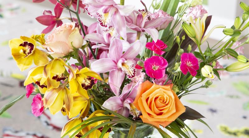 Cymbidium kleur snijorchidee bloem feestdagen kerstmis cadeau boeket verpakking Fleur Magazine