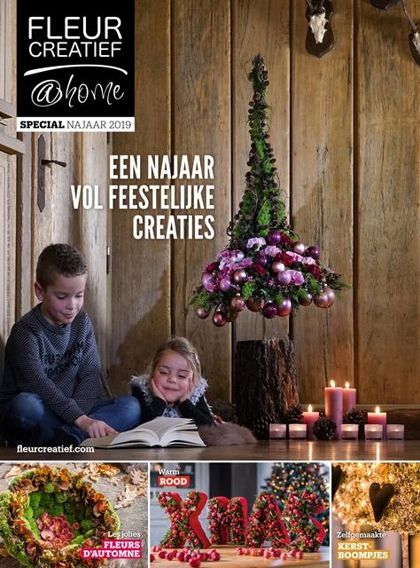 fleur creatief @ home special najaar 2019 feestelijke bloemencreaties najaarsbloemen kerstbomen FLEURCREATIEF.COM kerst kerstdecoraties kerstsfeer