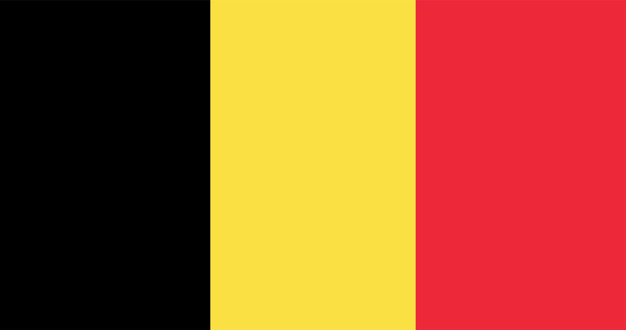 Illustration of belgium flag Free Vector