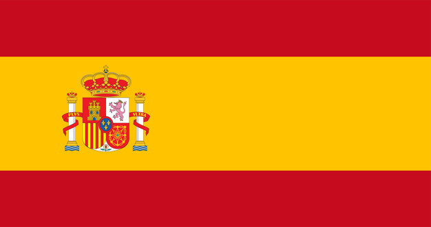 Illustration of spain flag Free Vector