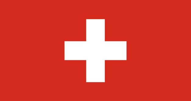 Illustration of switzerland flag Free Vector