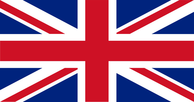 Illustration of uk flag Free Vector