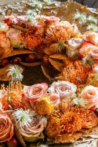 Sören Van Laer bloemenwerk bloemwerk bloemendesign bloemencreatie bloemsierkunst rozen cover fleur creatif laurierblaadjes info florist floristiek fleur creatief magazine bloemenliefhebbers bloemisten