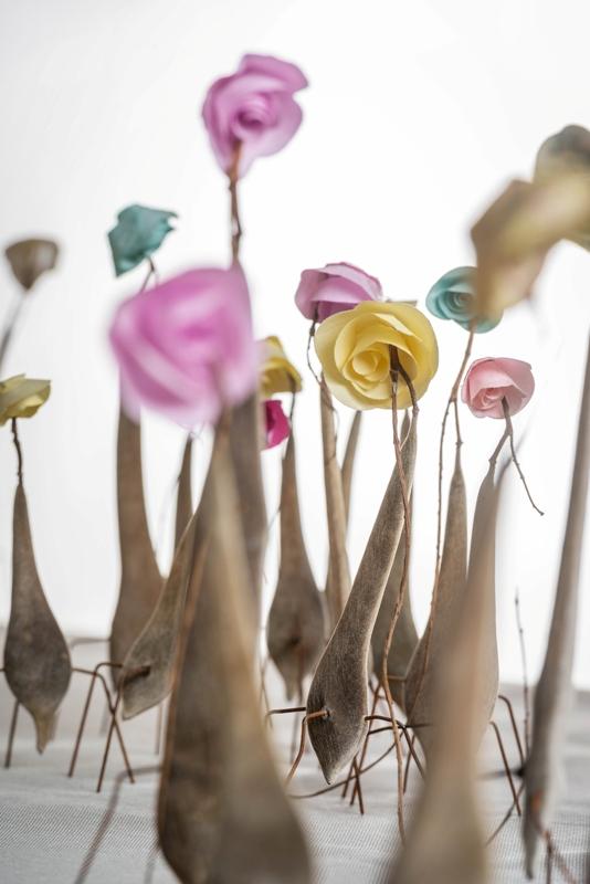 Rita Van Gansbeke interview nieuw magazine Fleur Creatief @ Home Special herfst najaar inspiratie bloemendesigns bloemsierkunst bloemenkunst bloemkransen knutselen met natuurlijke materialen floristen bloemisten ideeën bloemenliefhebbers diy do it yourself fleur magazine