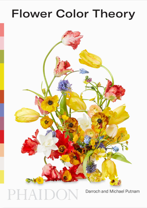 Flower Colory Theory - nieuw boek in de Fleurshop. Over kleurentheorie als inspiratiebron voor bloemencreaties. Van dezelfde floristen als de bestseller Flower Colour Guide.