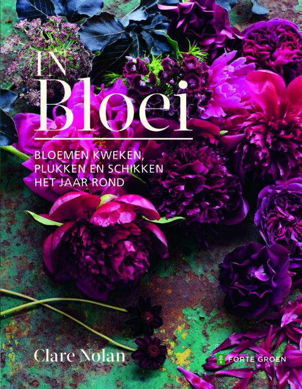 Nieuw boek in de FLEURSHOP: In Bloei! Over zelf bloemen kweken, plukken en schikken het hele jaar rond. Met praktische tips om zelf een pluktuin te creëren en de mooiste boeketten samen te stellen.