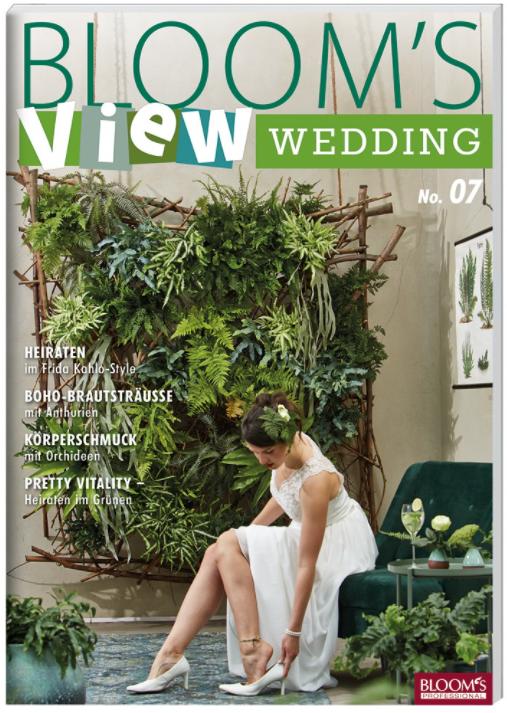 Nieuw boek in de Fleurshop: Bloom's View Wedding 21. Boordevol inspiratie voor de bruidsfloristiek. Ontdek nu dé trends voor 2021!